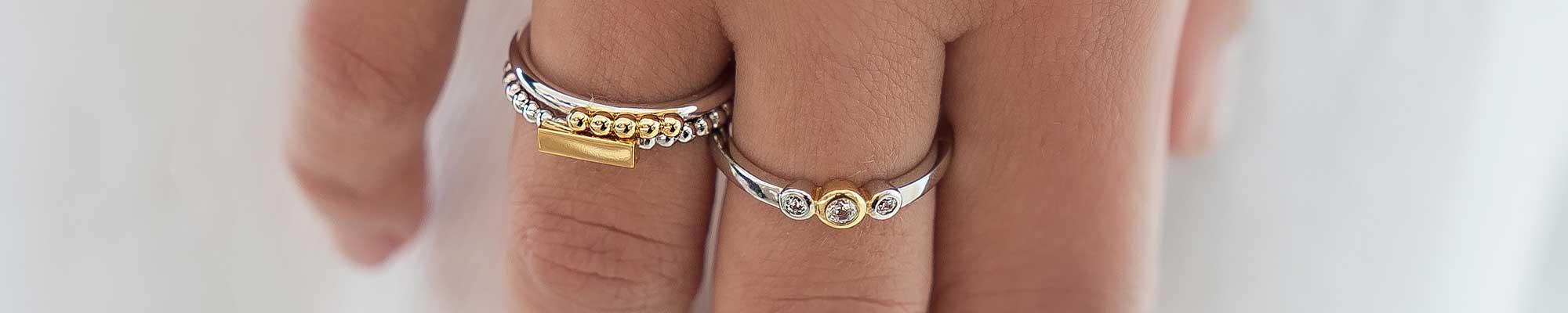 Gouden ring zonder steen