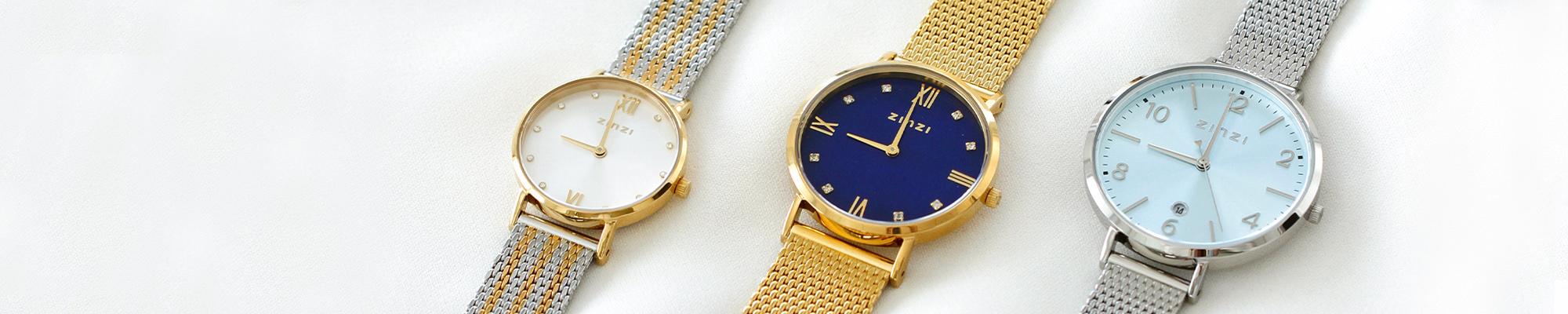 stalen horloges