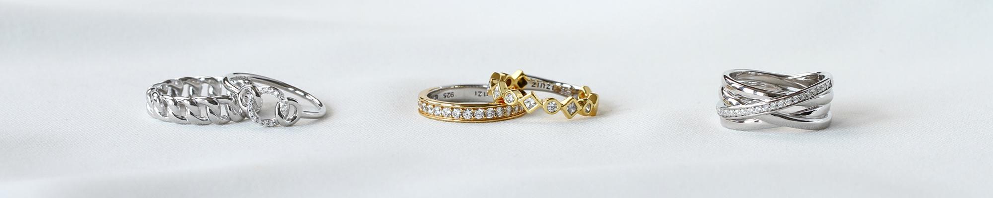 geelvergulde ringen