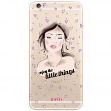 ZINZI-telefoonhoesje-transparant-'Enjoy-the-little-things'-ZITH15-