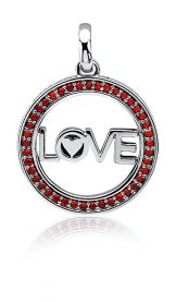 ZINZI-zilveren-hanger-met-LOVE-in-rand-25mm-rood-LOVEH08R