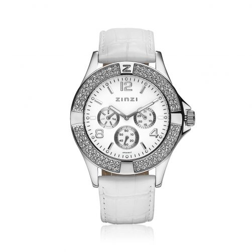 ZINZI-Watch-witte-plaat-witte-band-UNO5