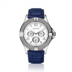 ZINZI-Watch-witte-plaat-blauwe-band-UNO1