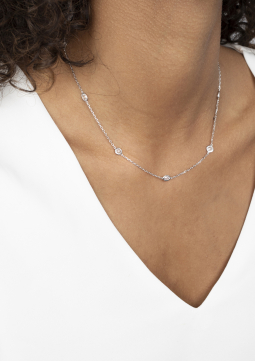ZINZI-zilveren-fantasie-ketting-45cm-met-diverse-trendy-vormen-wit-ZIC2051